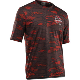 Northwave Enduro MTB Jersey korte mouwen Heren, rust red